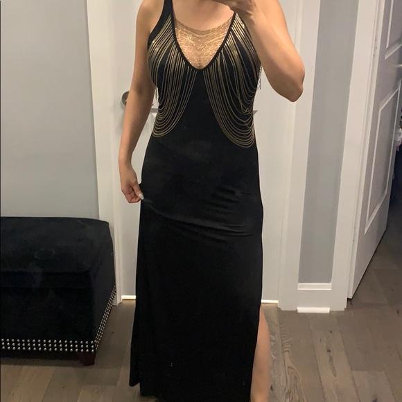 Grown long dress